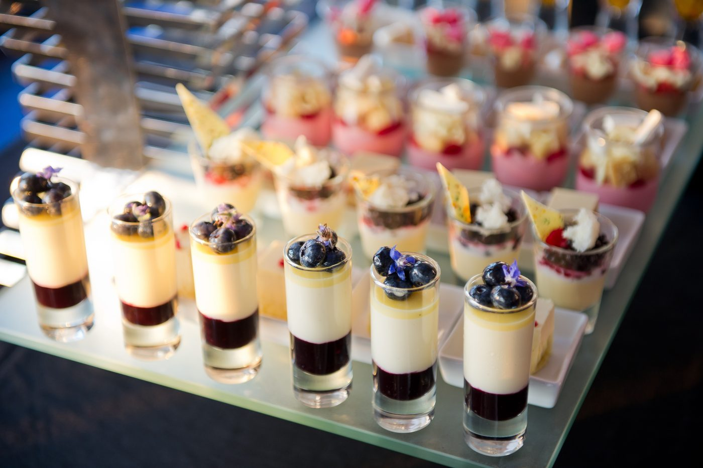 Canapes Deserts - Wedding Catering - Full Flavour Events