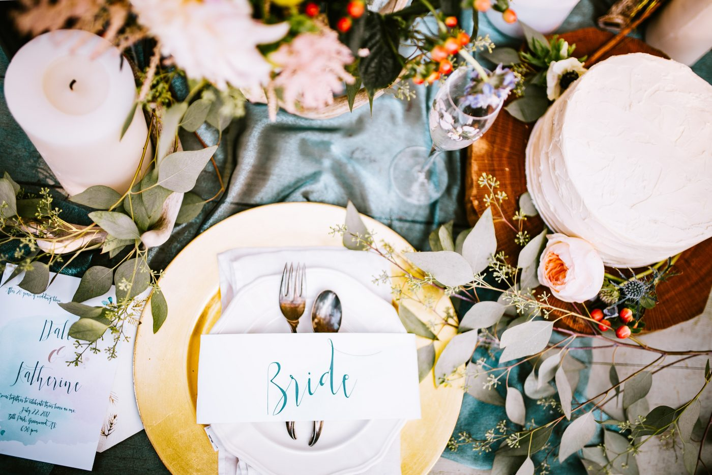 Wedding Food Ideas - Formal Dinner - Full Flavour Events - Bath