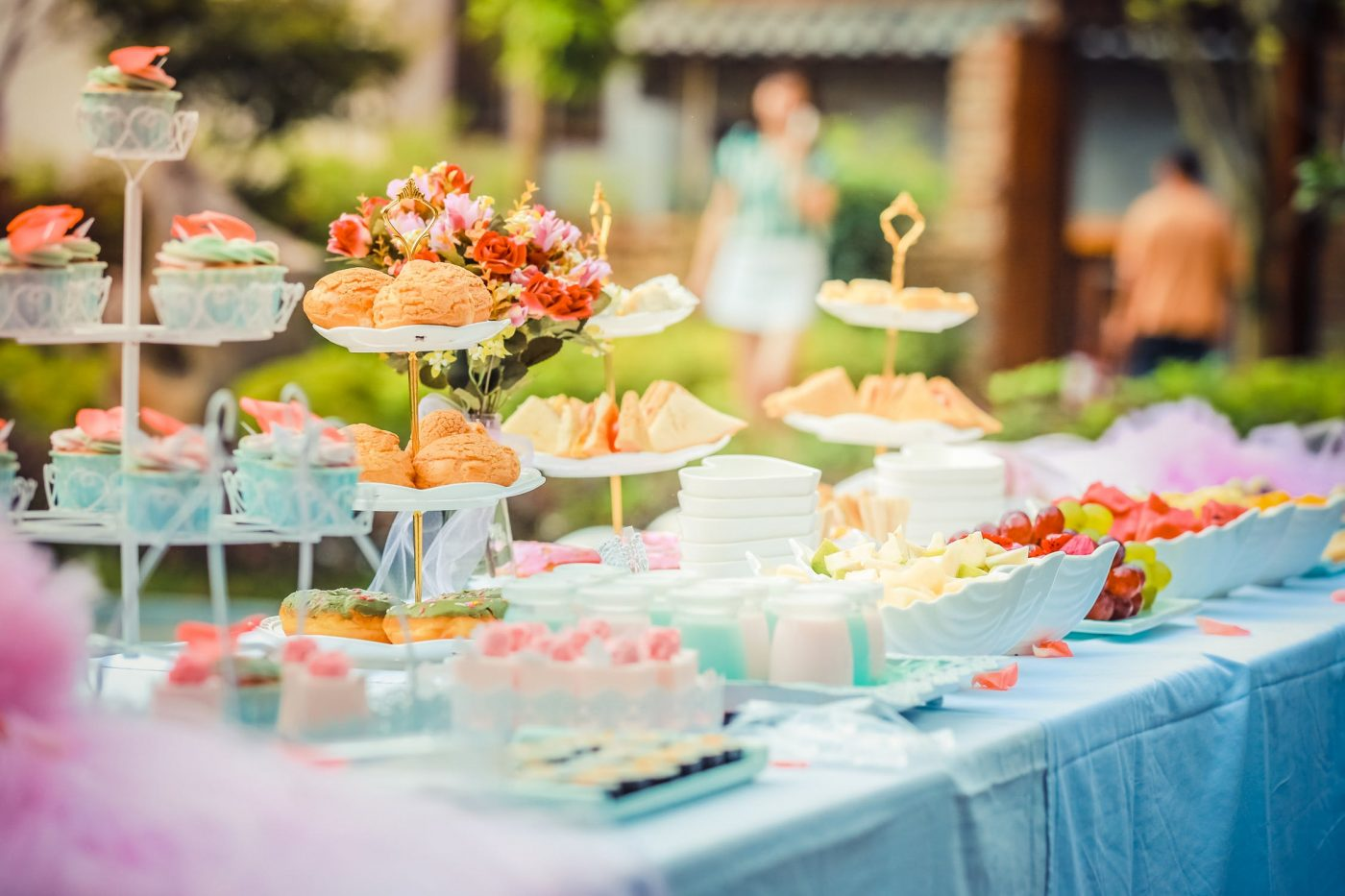 Afternoon Tea Grazing Table - Full Flavour Events