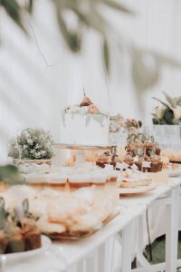 Desserts and Cakes - Grazing Tables - Wedding Catering - Full Flavour Events
