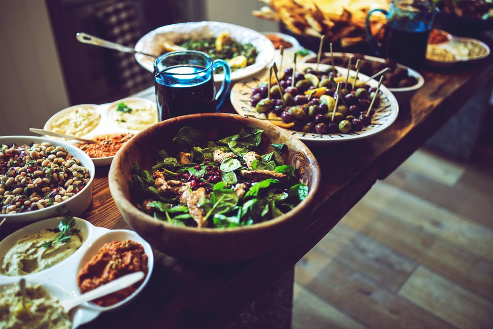 Buffet Food - Corporate Catering - Full Flavour Events - Bath
