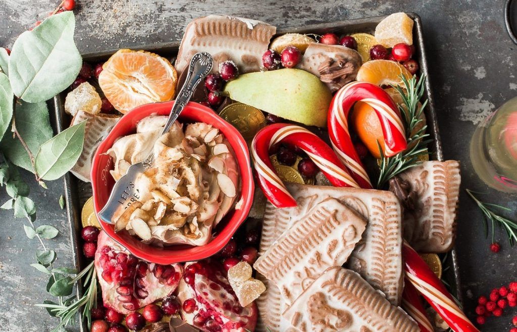 Sweet Sharing Platter - Christmas Party Catering Ideas - Full Flavour Events - Bath